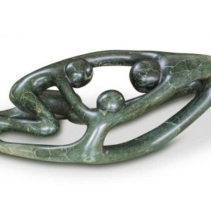 Abstract stone sculpture 2