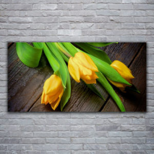 120 x 60 Yellow Love Flowers